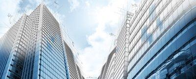 Fotomural Projeto de edifícios modernos
