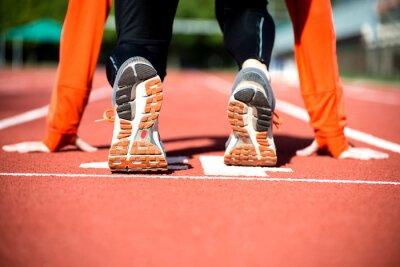 Fotomural Pronto para sprint