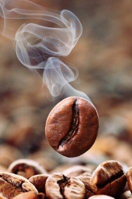 Fotomural Qualmende Kaffeebohne