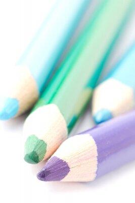 Fotomural Quatro crayons