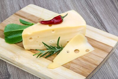 Fotomural queijo amarelo