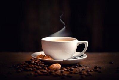 Fotomural quente, café fresco