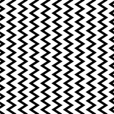 Fotomural Repetível ondulado, linhas verticais em ziguezague em forma paralela.