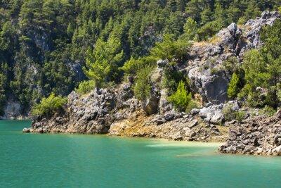 Fotomural Reserva Natural Big Green Canyon na Turquia
