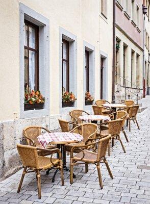 Fotomural restaurante