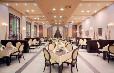 Fotomural Restaurante moderno hotel interior