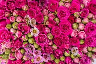 Fotomural Resumo de fundo de flores.