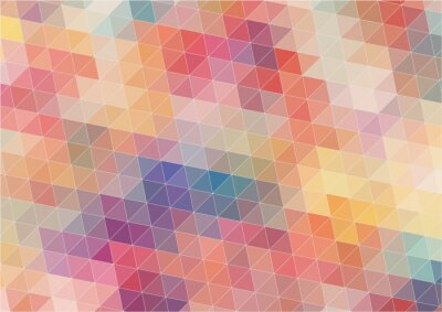 Fotomural Resumo fundo colorido Bidimensional