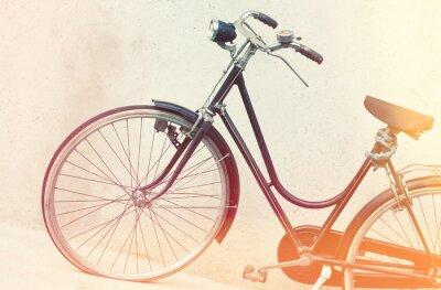 Fotomural retrò bicicleta
