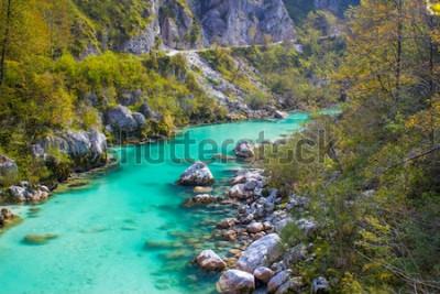 Fotomural Rio Soca na Eslovénia, Europa