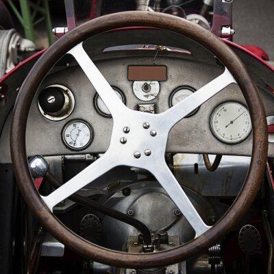 Fotomural roda antiga