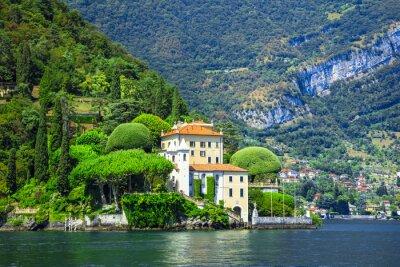 Fotomural Romântico Lago di Como, vivenda del Balbianello
