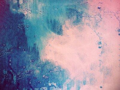 Fotomural Rosa, azul, abstratos, fundo