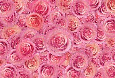 Fotomural Rosa rosas flor fundo, feliz dia dos namorados