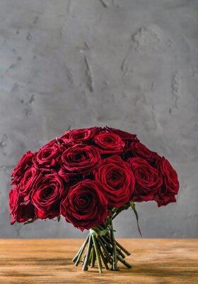 Fotomural rosas vermelhas