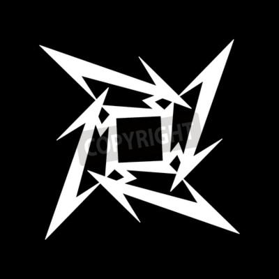 Fotomural RÚSSIA - 09 FEVEREIRO DE 2017: símbolo Metallica