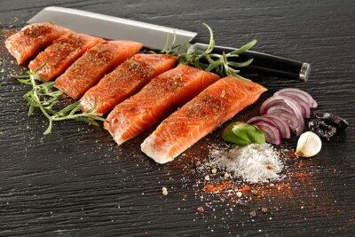 Fotomural salmão