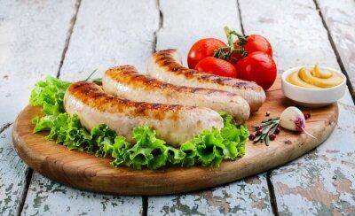 Fotomural Salsichas de frango grelhado