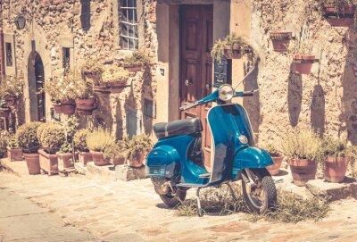 Fotomural Scooter em Toscana
