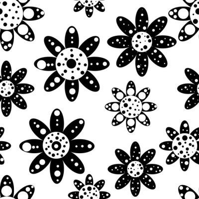 Fotomural Seamless floral