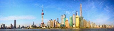 Fotomural Shanghai skyline panorama, China