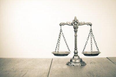 Fotomural Símbolo de justiça.