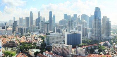 Fotomural Skyline de Singapore