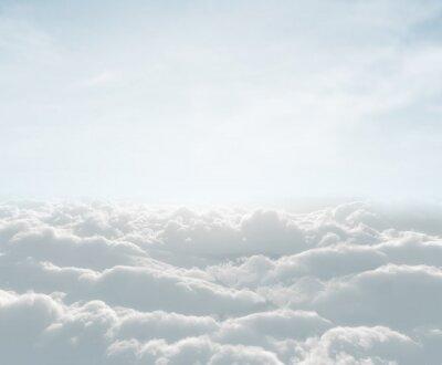 Fotomural skyscape alta definição com nuvens
