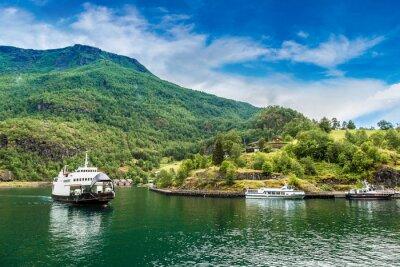 Fotomural Sognefjord em Noruega