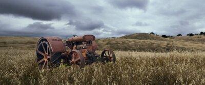 Fotomural Solitária Tractor