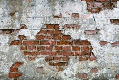 Fotomural Stara Cegła - Ściana, mur