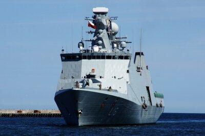 Fotomural Statek w Gdyni