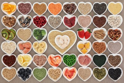 Fotomural Super Saúde alimentar