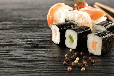 Fotomural sushi