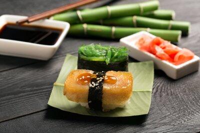 Fotomural Sushi, japoneses, omelete