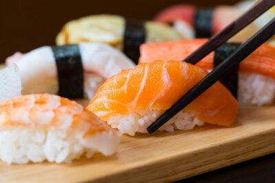 Fotomural Sushi set, Japanese food