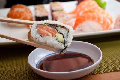 Fotomural sushis