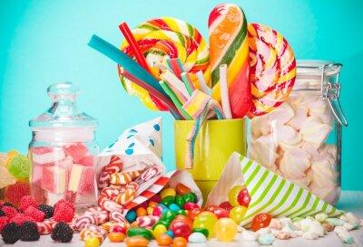 Fotomural Sweet, sugar, bags.
