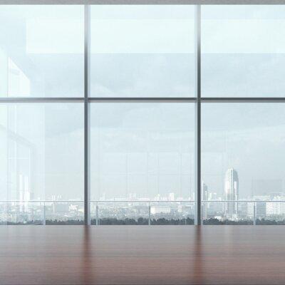 Fotomural Tabela do escritório e da janela