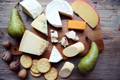 Fotomural Tábua de queijos