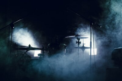 Fotomural Tambor, jogo, fumaça, fase