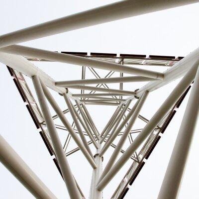 Fotomural tecnologia estrutura abstrata