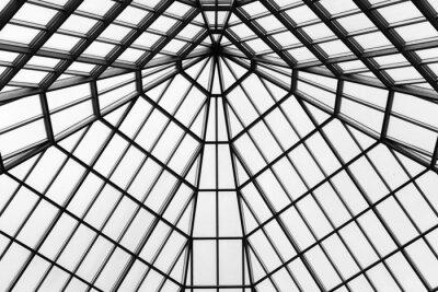 Fotomural Telhado de vidro