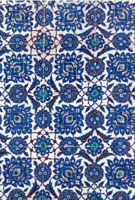 Fotomural Telhas cerâmicas turcas, Istambul