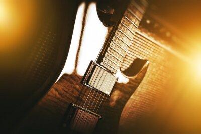 Fotomural Tema de guitarra elétrica