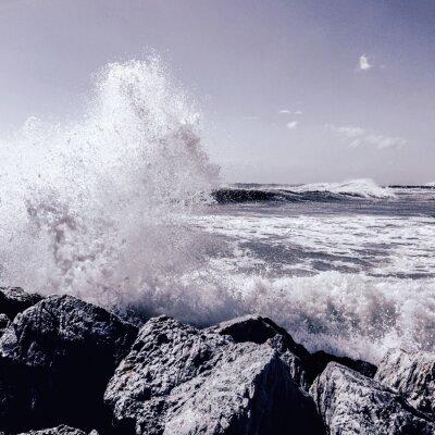 Fotomural Tempestade em Marbella