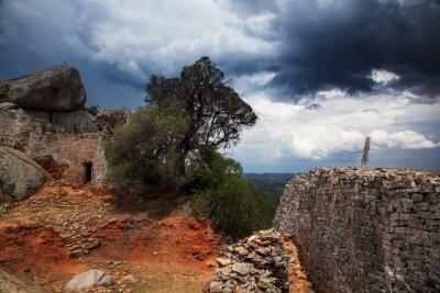 Fotomural Tempestade, Grande Zimbabué