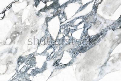 Fotomural Textura de mármore branco com padrão natural para plano de fundo