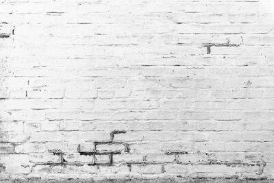 Fotomural Textura de tijolos com arranhões e rachaduras