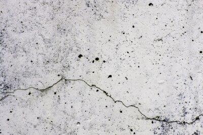 Fotomural Textura di sfondo di un muro, em cemento, con crepa che scorre orizzontalmente